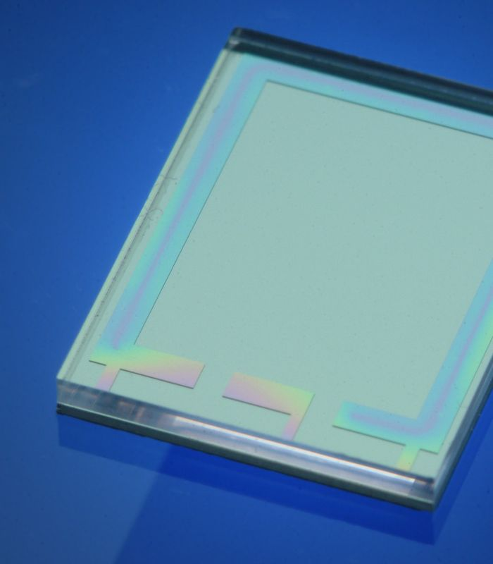 Hermetic sealing of diffractive optical chips (bonding).