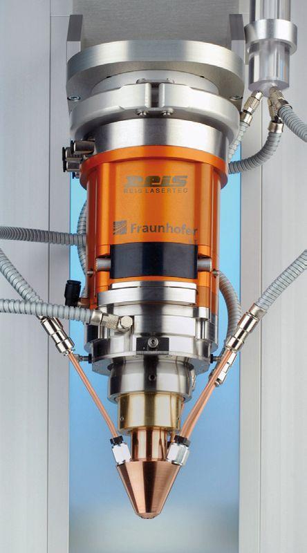 Varioclad Laser Metal Deposition With Variable Spot